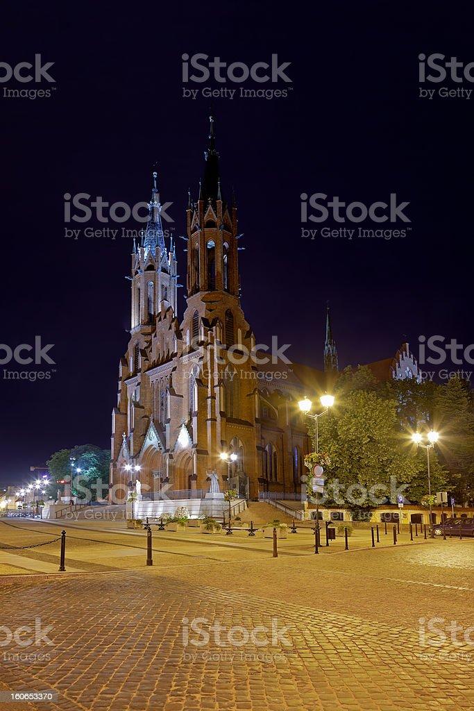 Basilica in Bialystok royalty-free stock photo