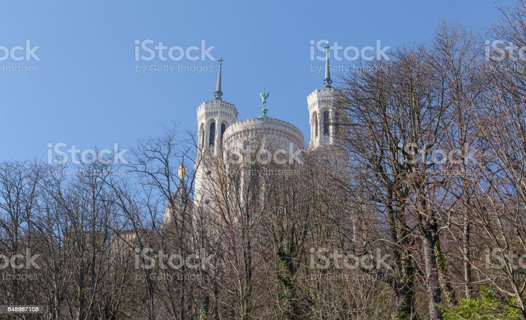 Basilica of Notre-Dame de Fourviere 1 stock photo