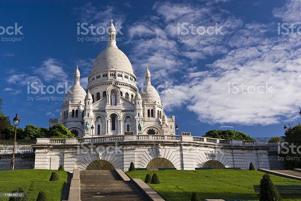 Basilica of Sacre Coeur, Paris stock photo