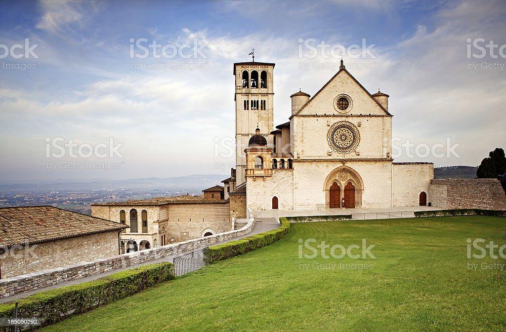 Basilica of Saint Francis royalty-free stock photo