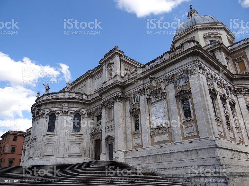 Basílica de santa maría mayor foto de stock libre de derechos