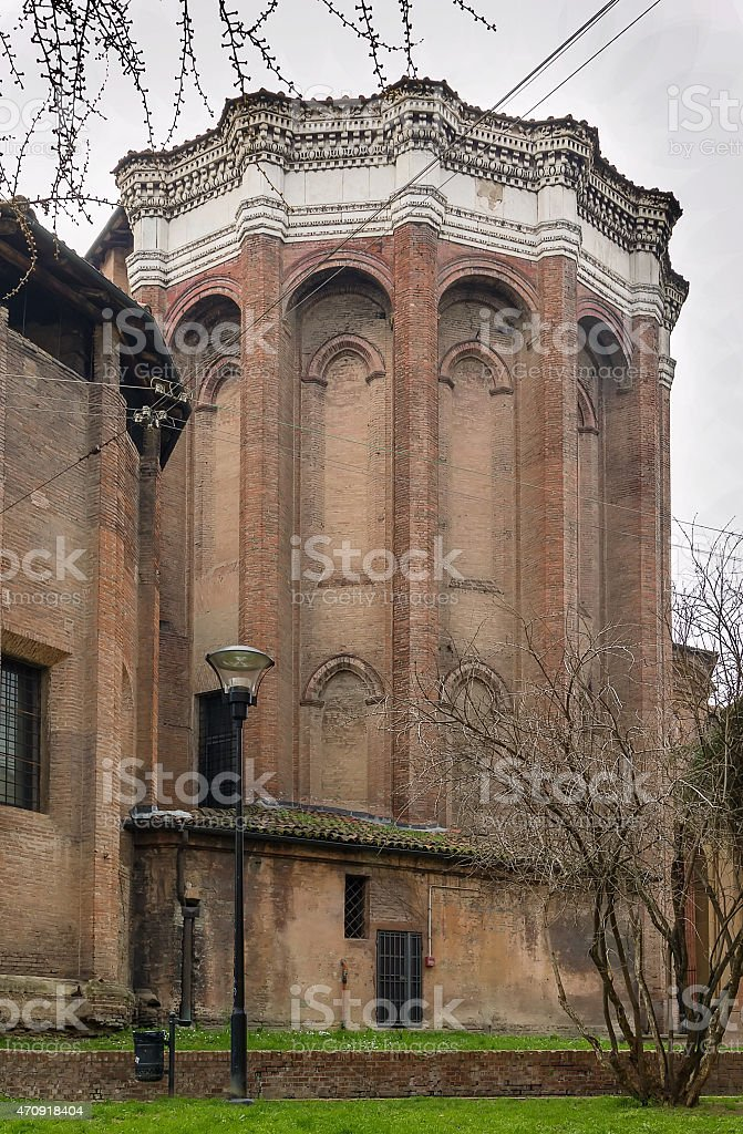 Basilica of San Domenico, Bologna, Italy stock photo