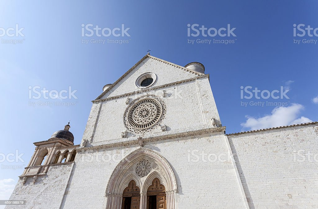 Basilica of San Francesco, Assisi, Perugia, Umbria stock photo