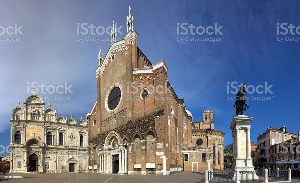 Basilica di San Giovanni E Paolo, Italy, Rome stock photo