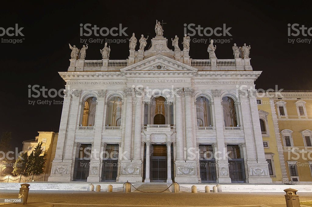 Basilica di San Giovanni in Laterano. Rome. royalty-free stock photo