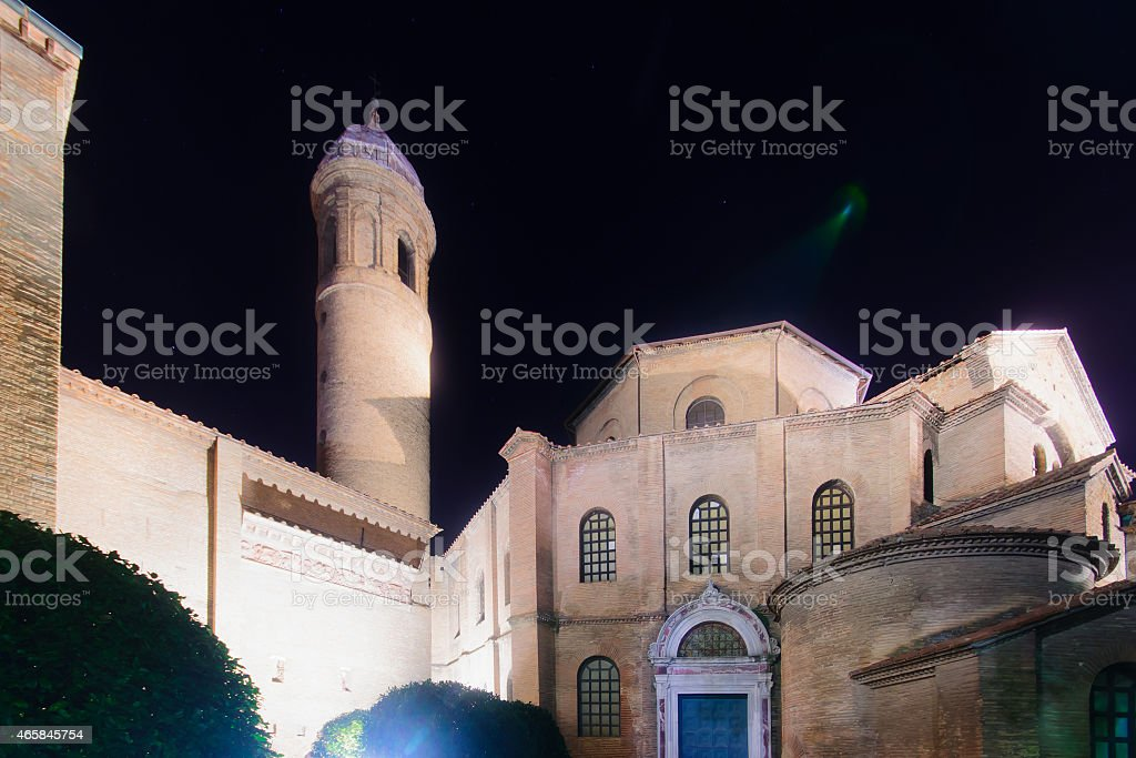 Basilica of San Vitale, Ravenna stock photo