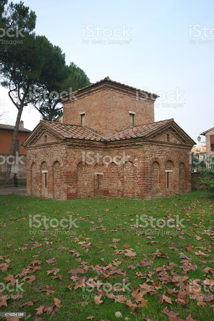 Basilica of San Vitale. Ravenna (Italy) stock photo