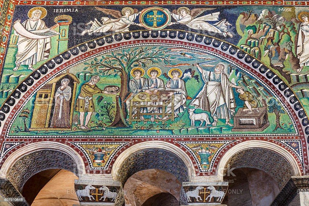 Basilica of San Vitale, Ravenna stock photo