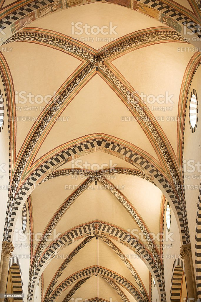 Basilica of Santa Maria Novella stock photo