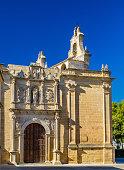 Basilica of Santa Maria the Reales Alcazares in Ubeda, Spain