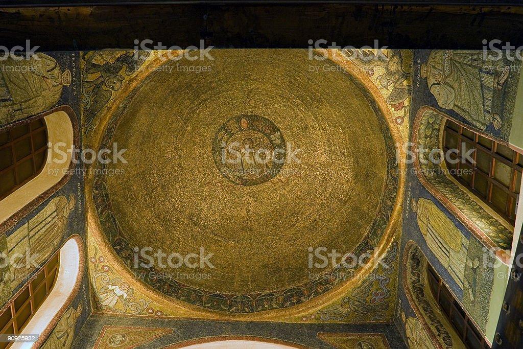 Basilica of Sant'Ambrogio stock photo