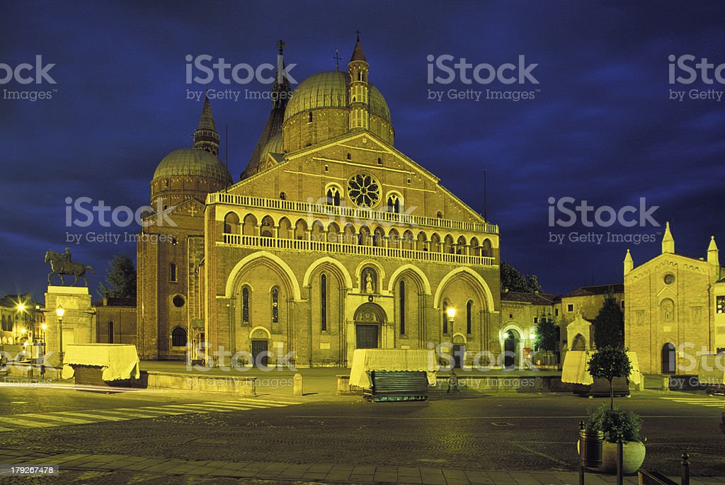 Basilica di Sant'Antonio da Padova royalty-free stock photo