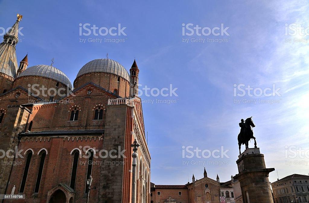 Basilica of St Anthony of Padua stock photo