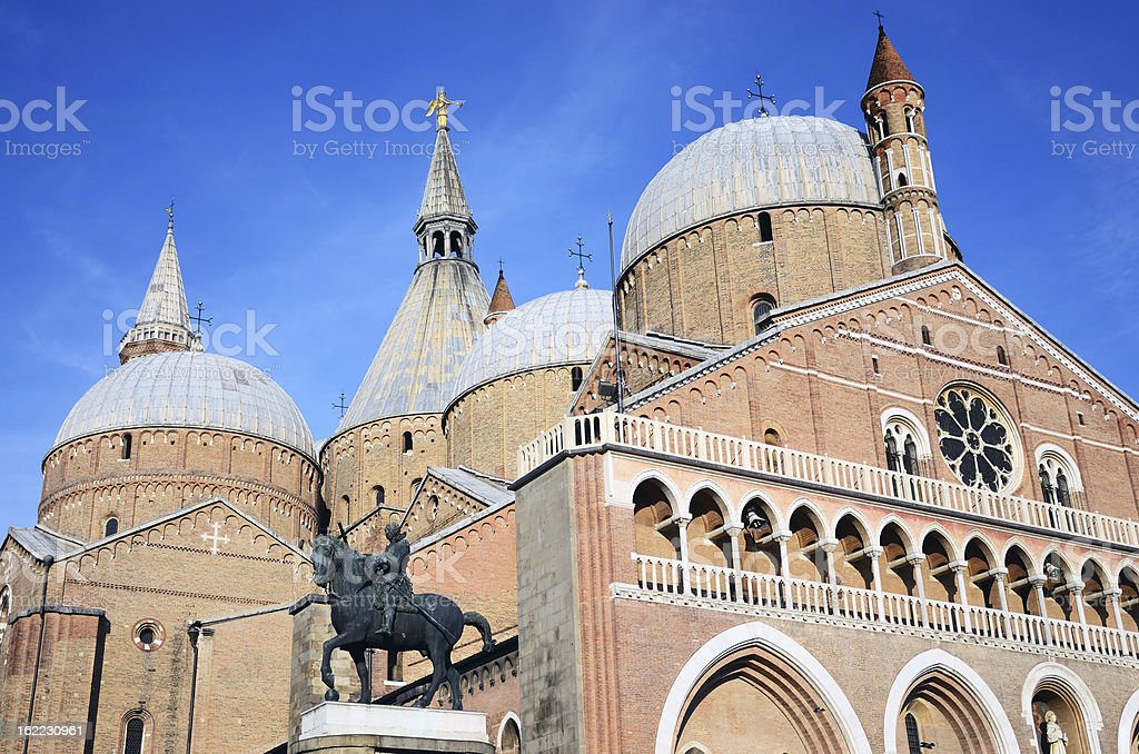 Basilica of St. Anthony, Padua, Italy stock photo
