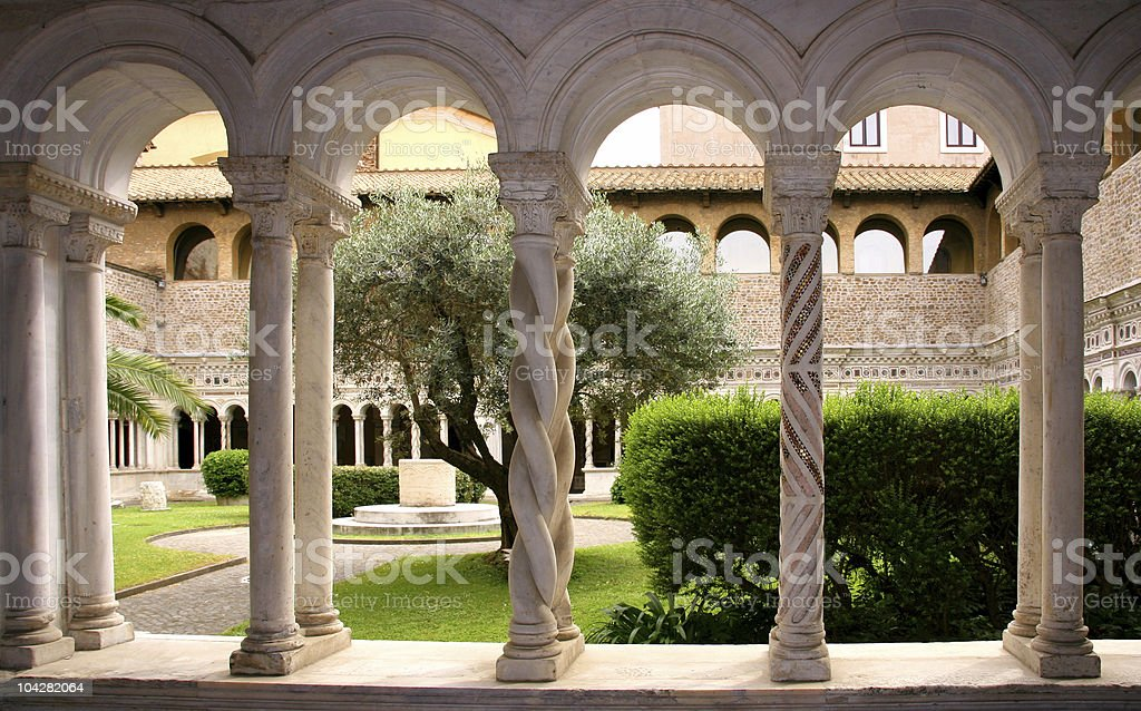 Basilica of St John Lateran royalty-free stock photo