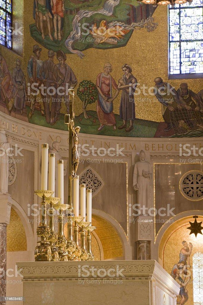 Basilica of the National Shrine royalty-free stock photo