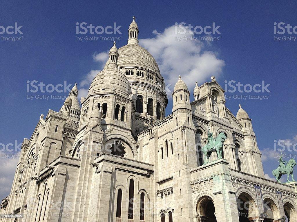 Basilique du Sacré-Coeur, Paris, France stock photo