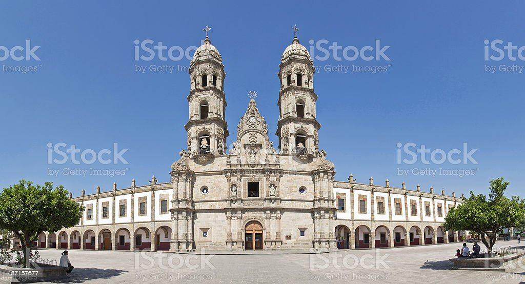 Basilica de Zapopan stock photo
