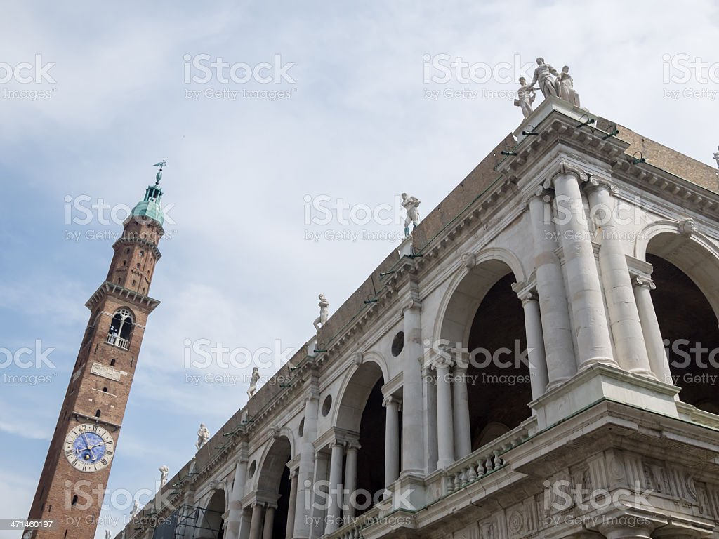 Basilica Paladiana stock photo