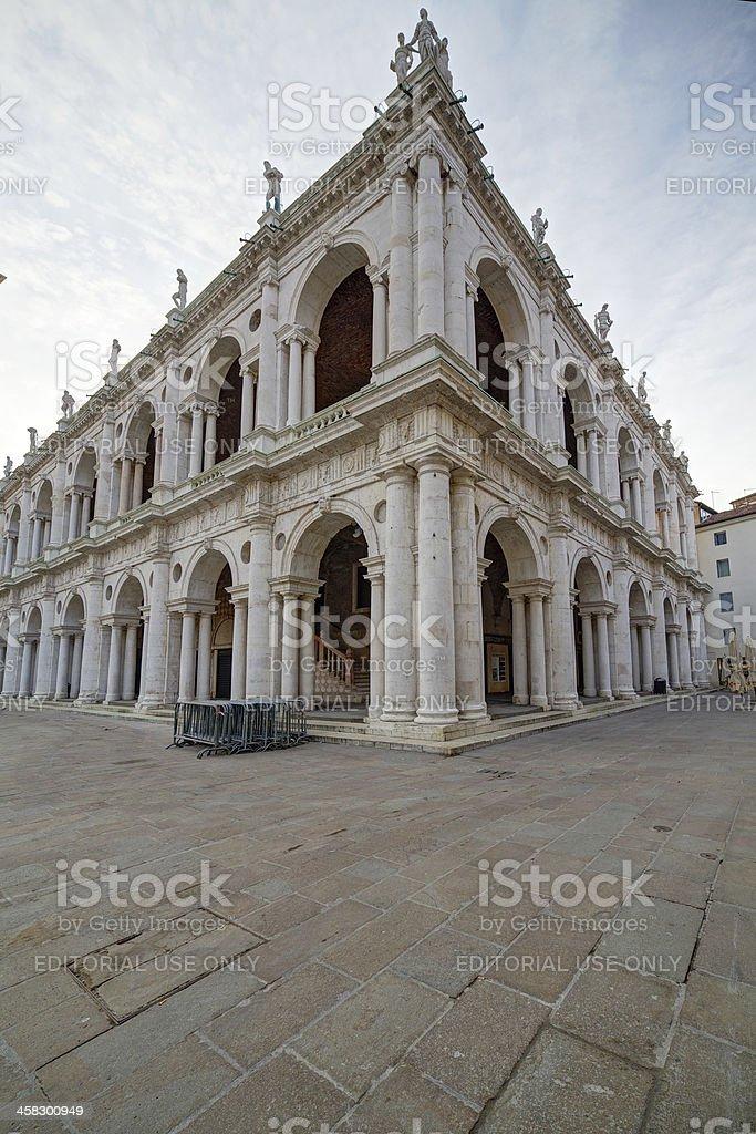 """Basilica Palladiana (""""Palazzo della Ragione""""). Vicenza-Italy. stock photo"""