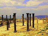 Basilica Ruins, Jordan, Sea of Galilee