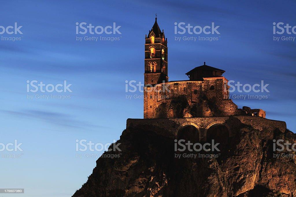 Basilica saint-Michel stock photo