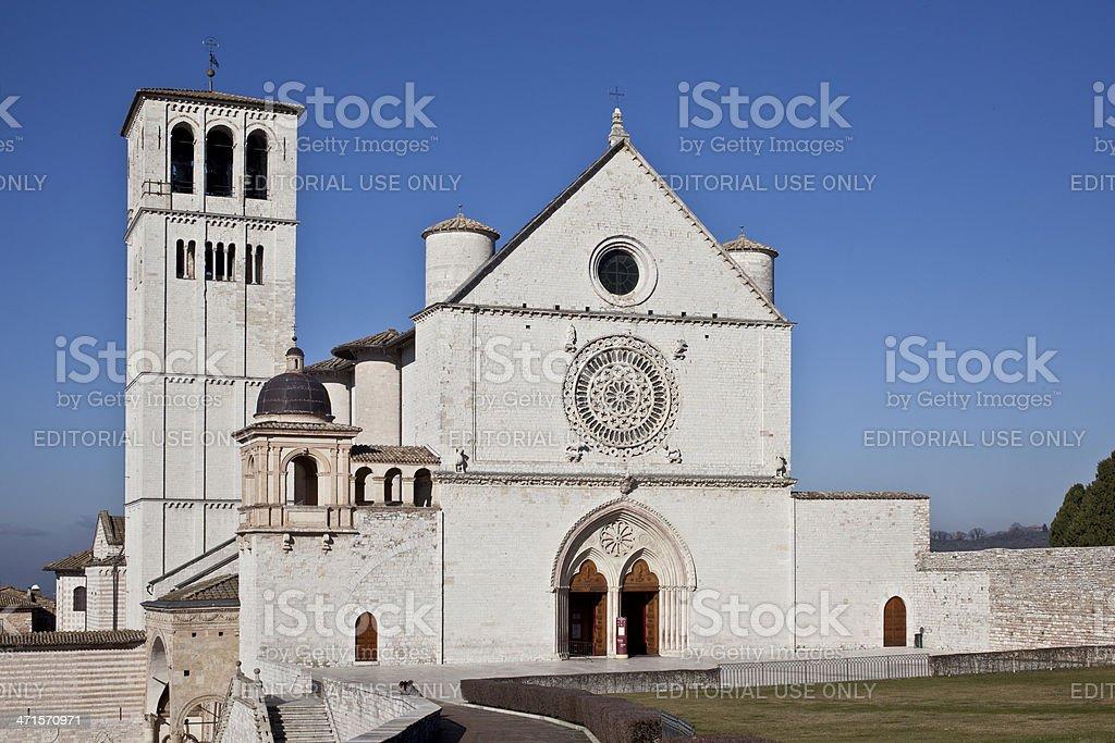Basilica San Francesco stock photo