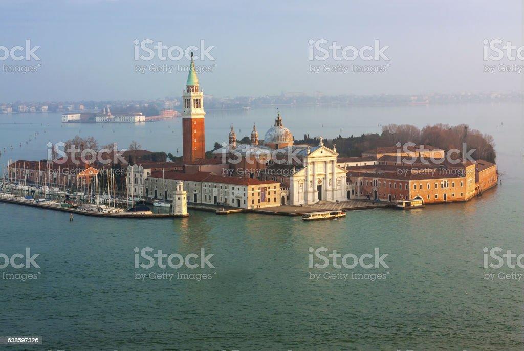 Basilica San Giorgio Maggiore - Venezia stock photo