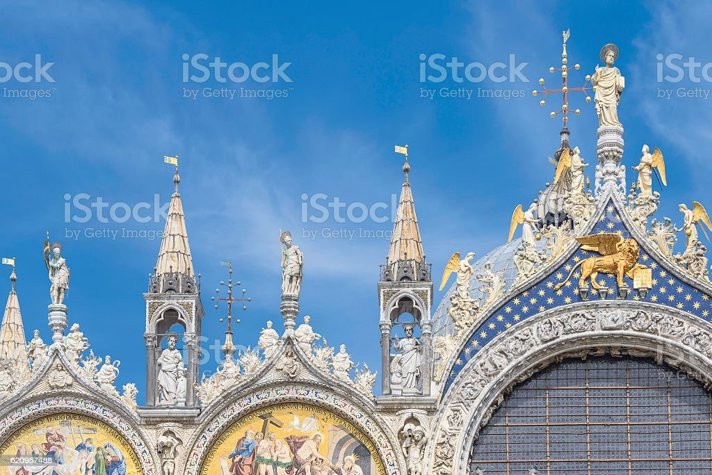 Basilica San Marco in Venice, Italy stock photo