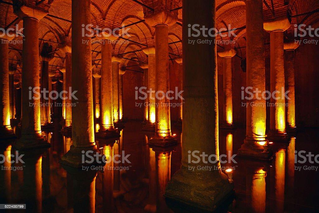 Basilica (Sunken) Sistern stock photo