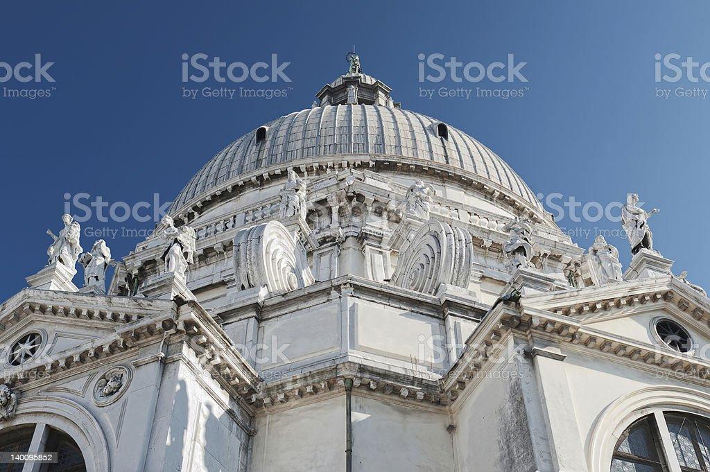 Basilica - St Mary of Health royalty-free stock photo