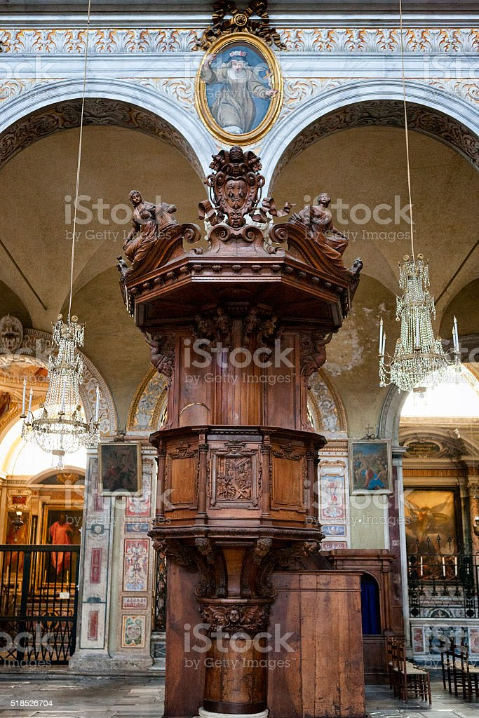 Basilica St. Mary of the Altar of Heaven, Rome, Italy stock photo