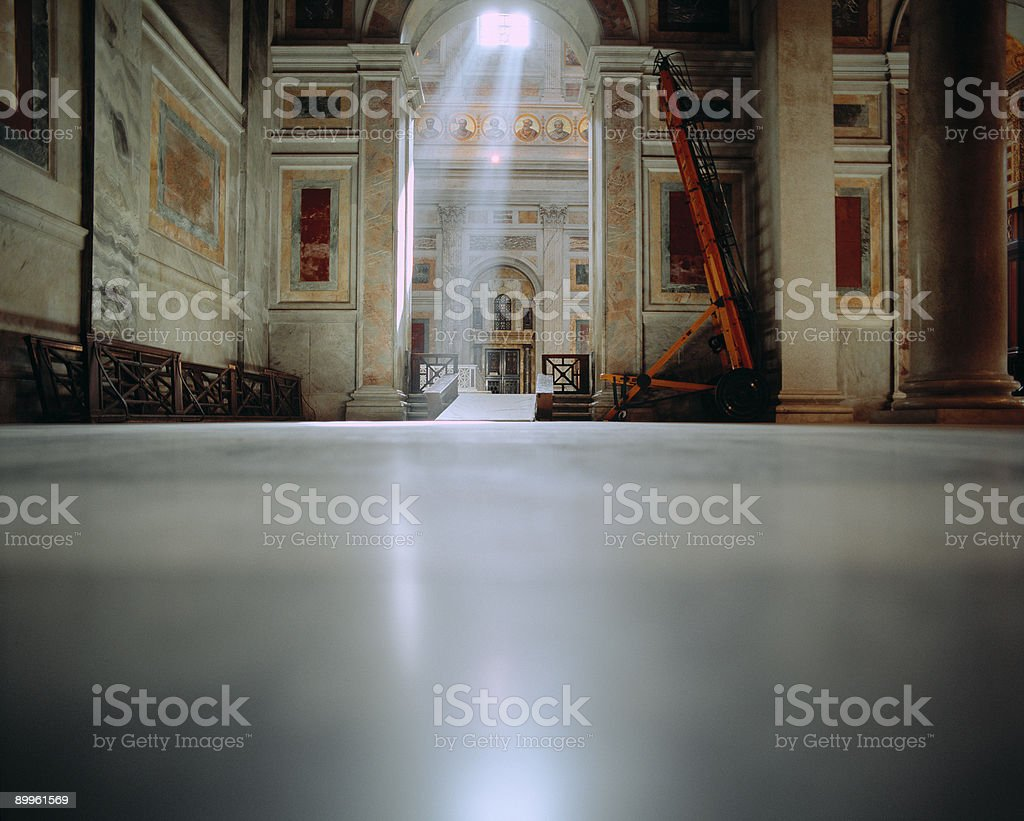 Basilica St. Paul outside the walls, Rome. royalty-free stock photo