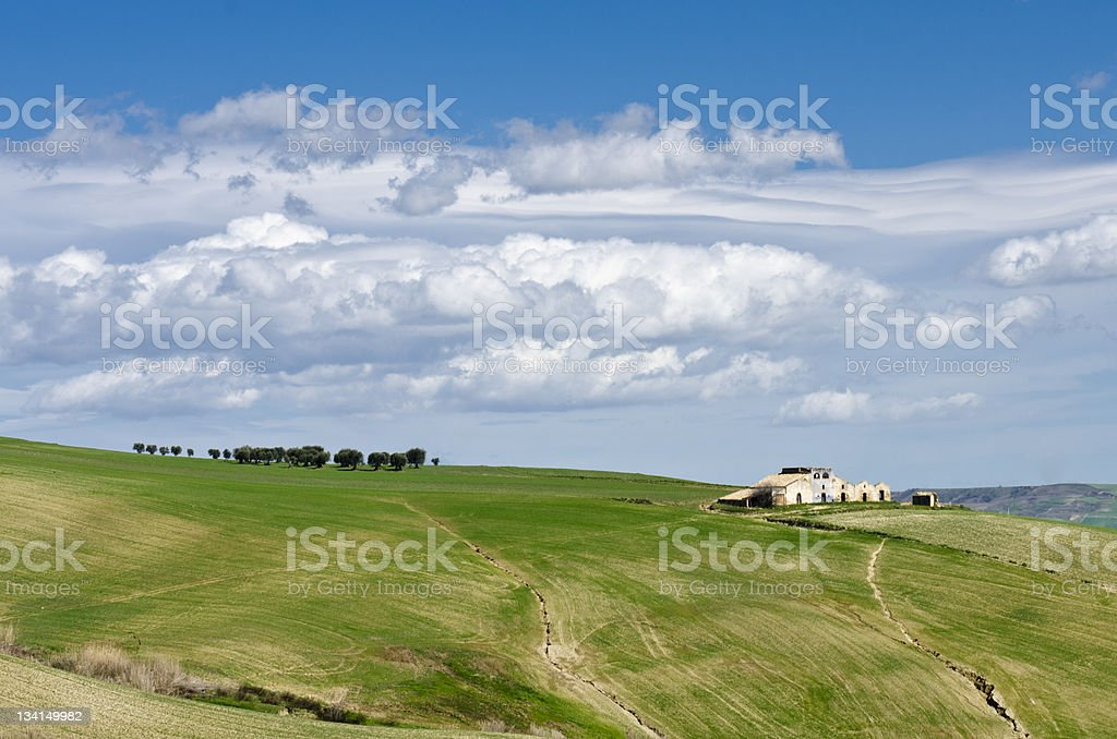 Basilicata Landscape royalty-free stock photo