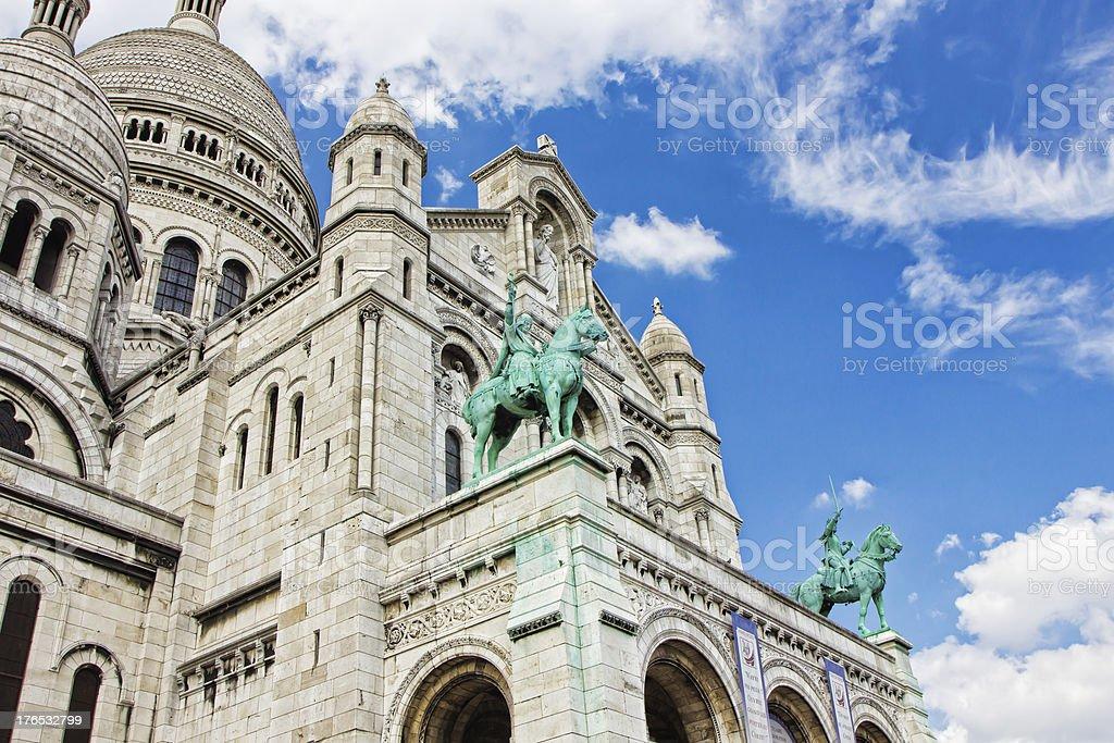 Basilica del Sacré-Cœur foto stock royalty-free