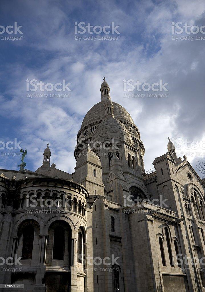 Basilique du Sacre Coeur royalty-free stock photo