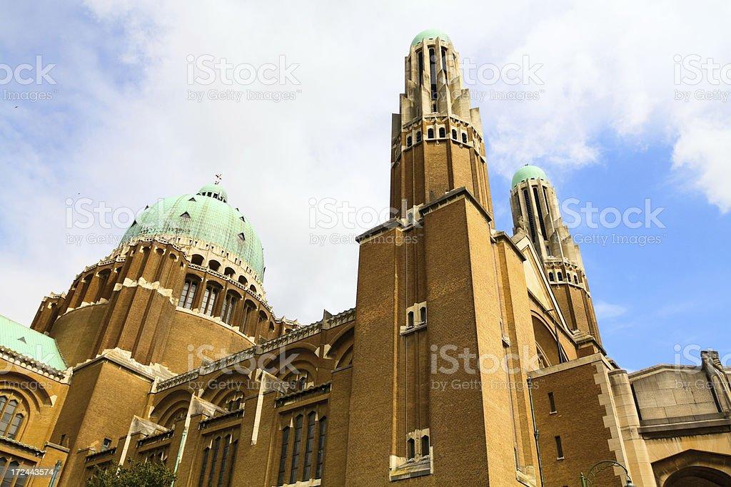 Basilique Nationale du Sacr?-C?ur royalty-free stock photo