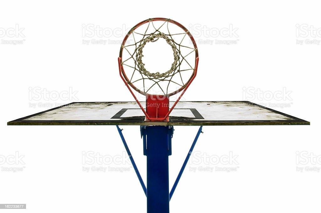 basket ball backboard royalty-free stock photo