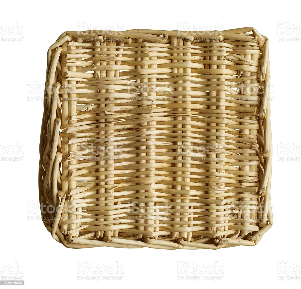 Basket Pattern royalty-free stock photo