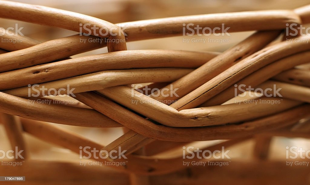 Basket royalty-free stock photo