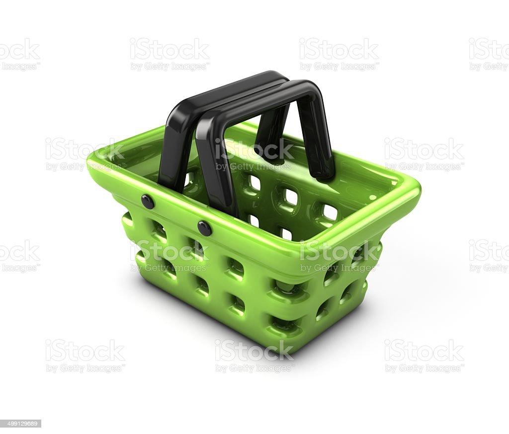 Basket. royalty-free stock photo