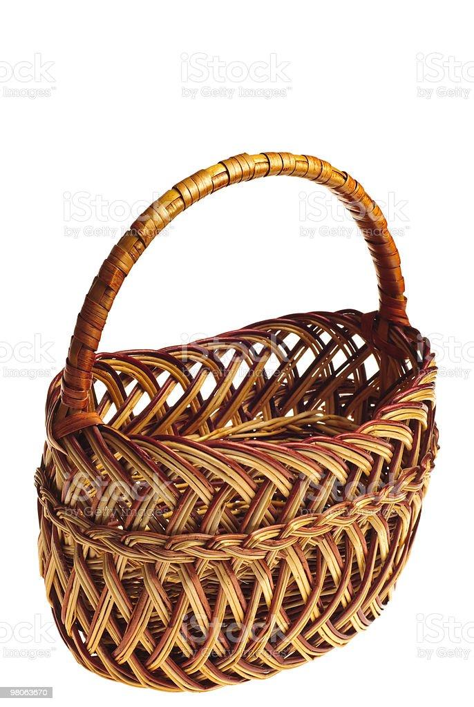 Basket royalty-free stock photo