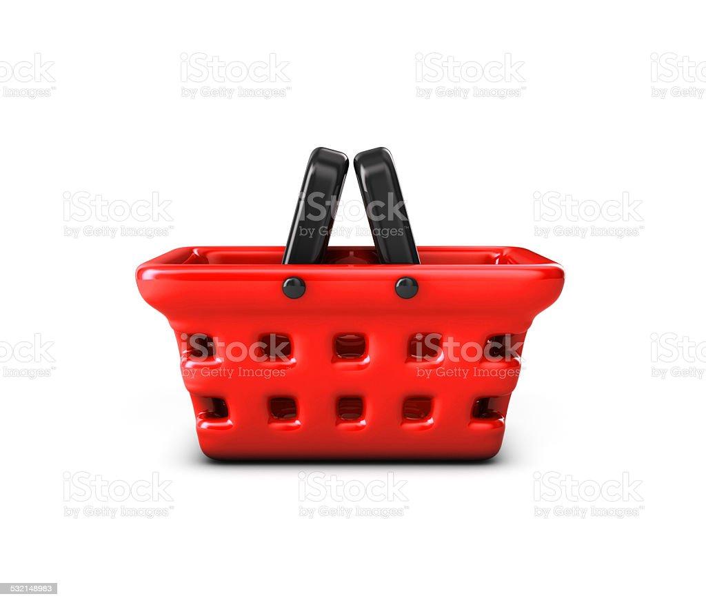 Basket supermarket. royalty-free stock photo