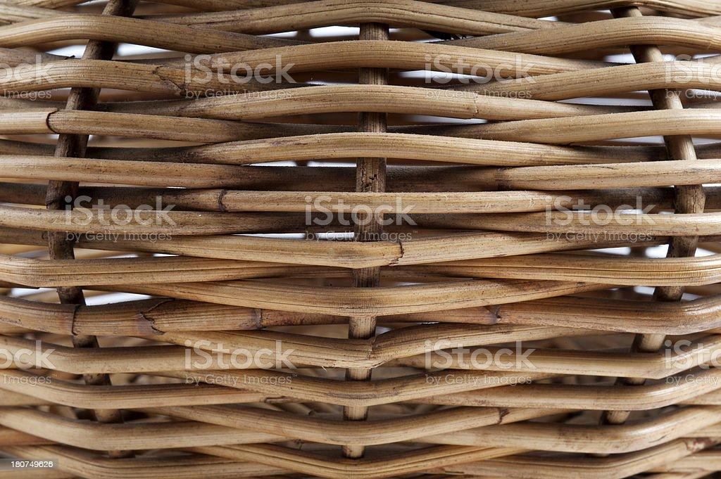 Basket textured royalty-free stock photo