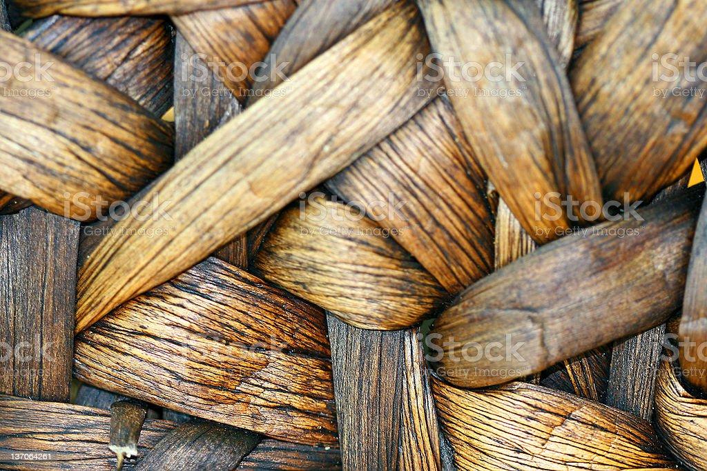 Basket Weave Background royalty-free stock photo
