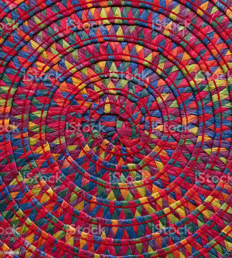 basket weave detail royalty-free stock photo