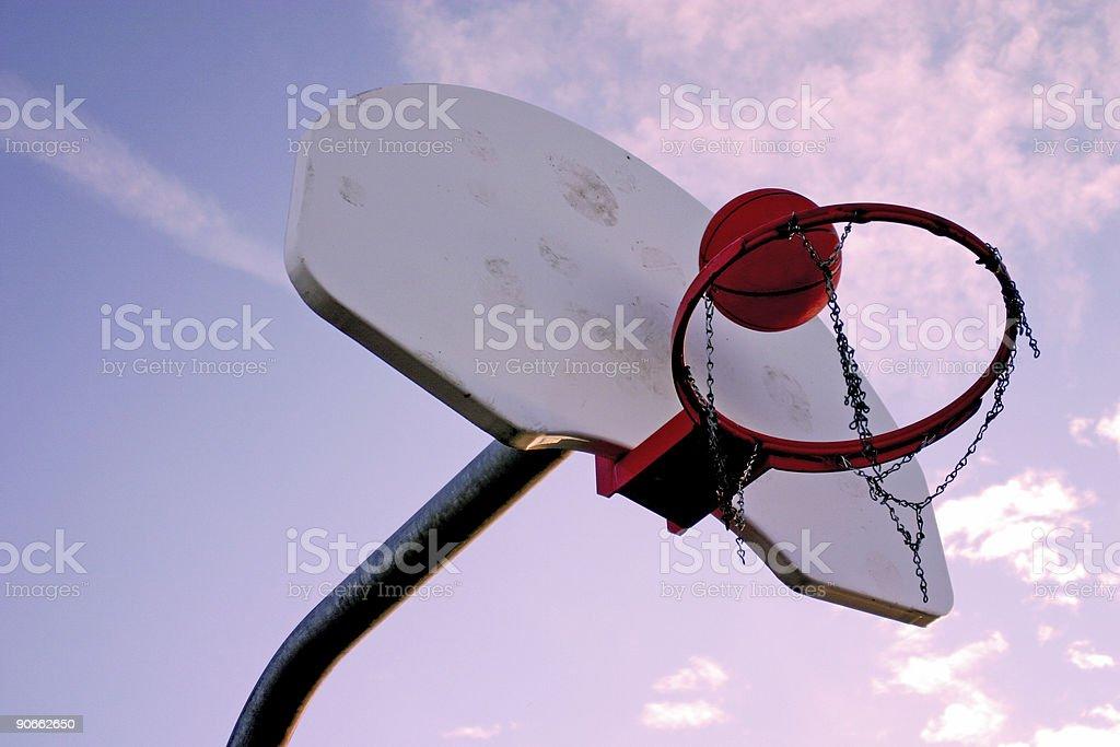 Basketball 2 stock photo