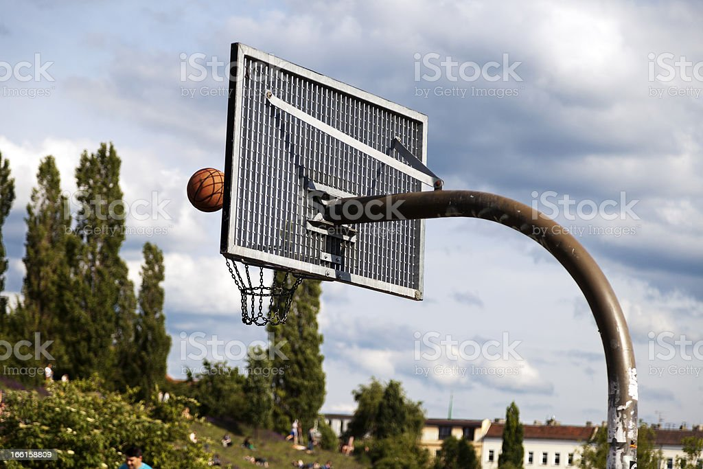 Basketball at the Park royalty-free stock photo