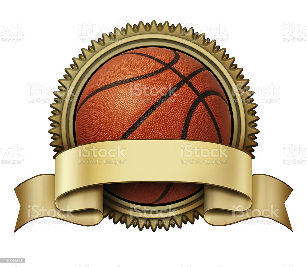 Basketball award stock photo