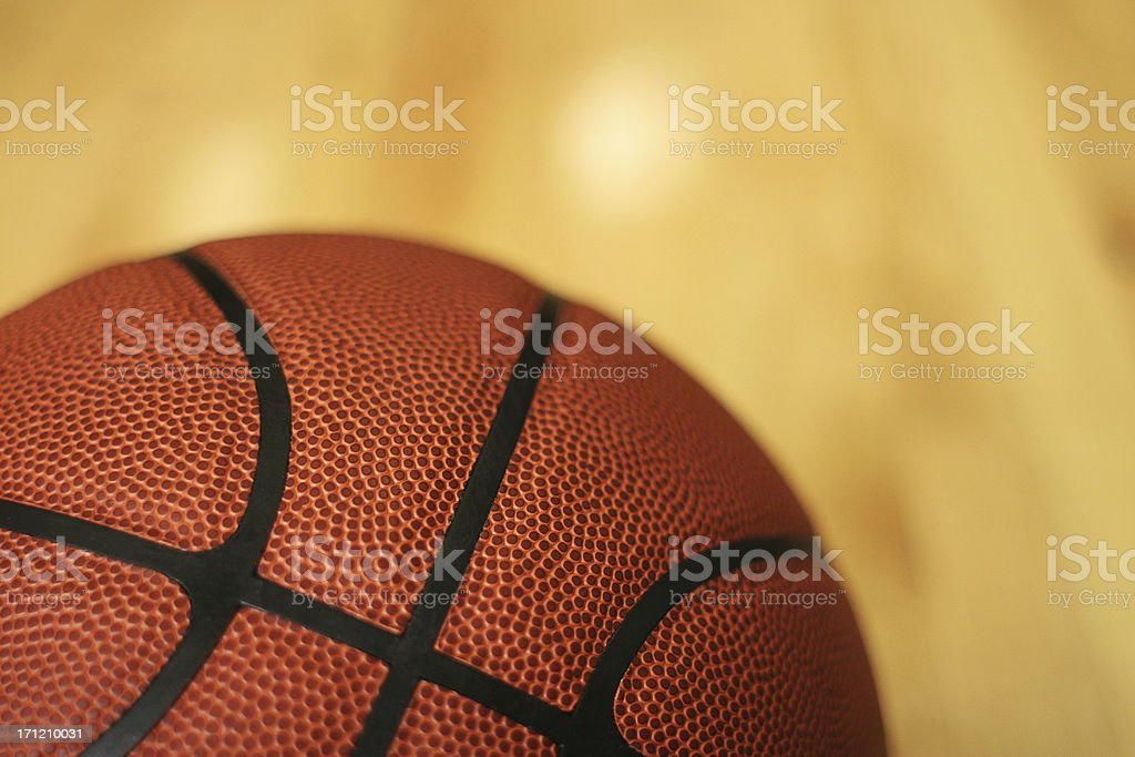 Basketball Background Horizontal royalty-free stock photo